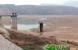 空拍永和山水庫…被淹沒的房 露出水面了