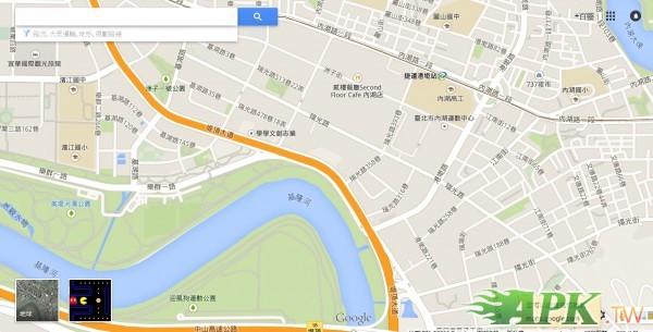 愚人節快樂!  上Google Maps玩小精靈吧