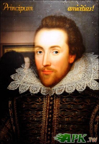 莎士比亞生前肖像畫曝光 真假遭質疑