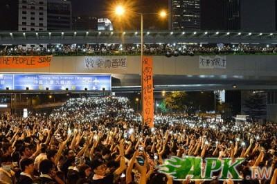 香港大型抗爭活動增加