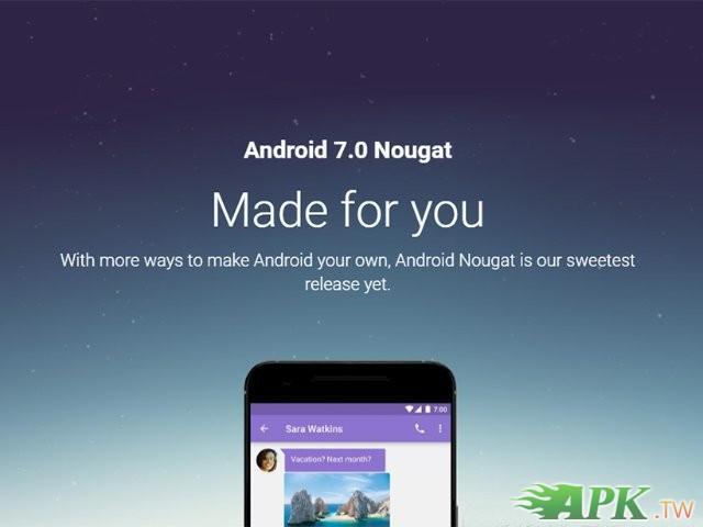Android 7.0正式釋出,多款 Nexus 裝置可升級