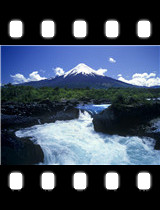 Scenic Salto del Petrohue Osorno Volcano Chile.jpg