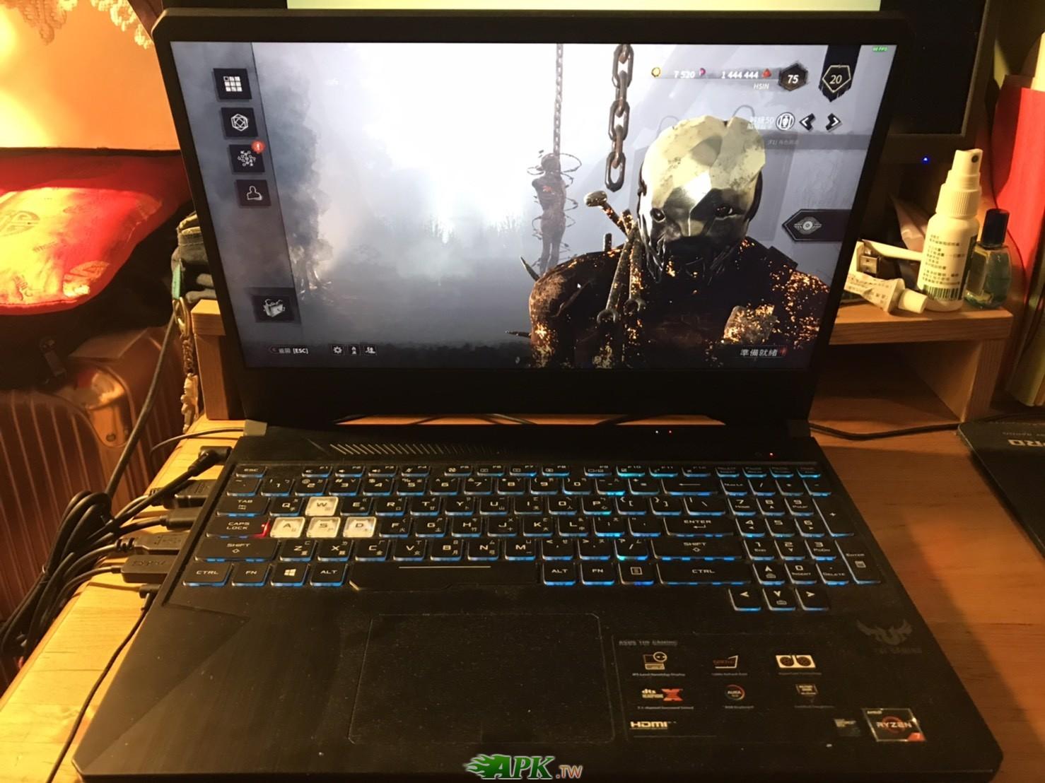 Asus tuf gaming 505du 電競筆電 1660ti 電競筆電
