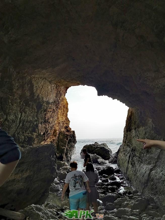 海蝕洞-網友推薦,這邊適合拍攝被光照,潮水漲退潮不同,要小心潮水
