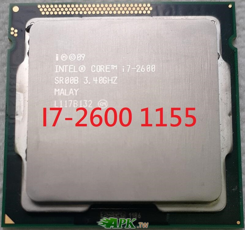 Intel Core i7 2600 3.4Ghz 四核心處理器