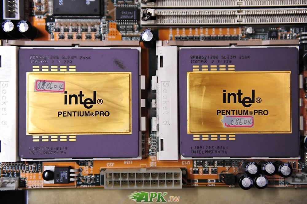 主機板IWILL DP6NS及CPU intel SL23M