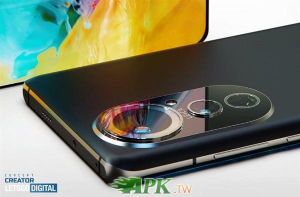 華為P50 Pro高清渲染圖曝光:單圓環後置三攝