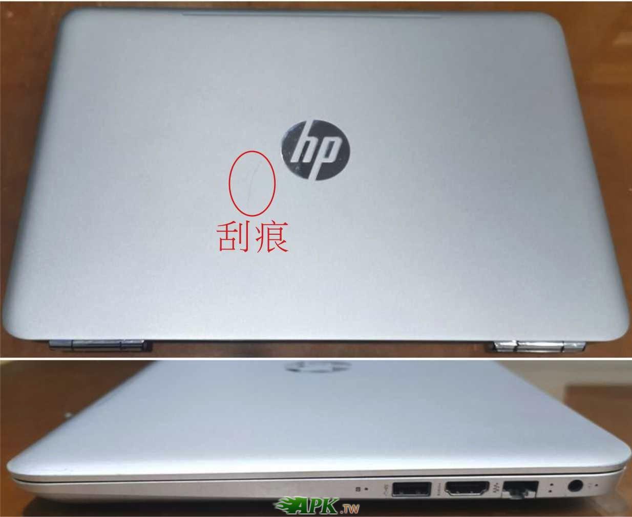 HP 14吋觸控螢幕筆電/獨顯4G/雙硬碟/8GB(DDR4)
