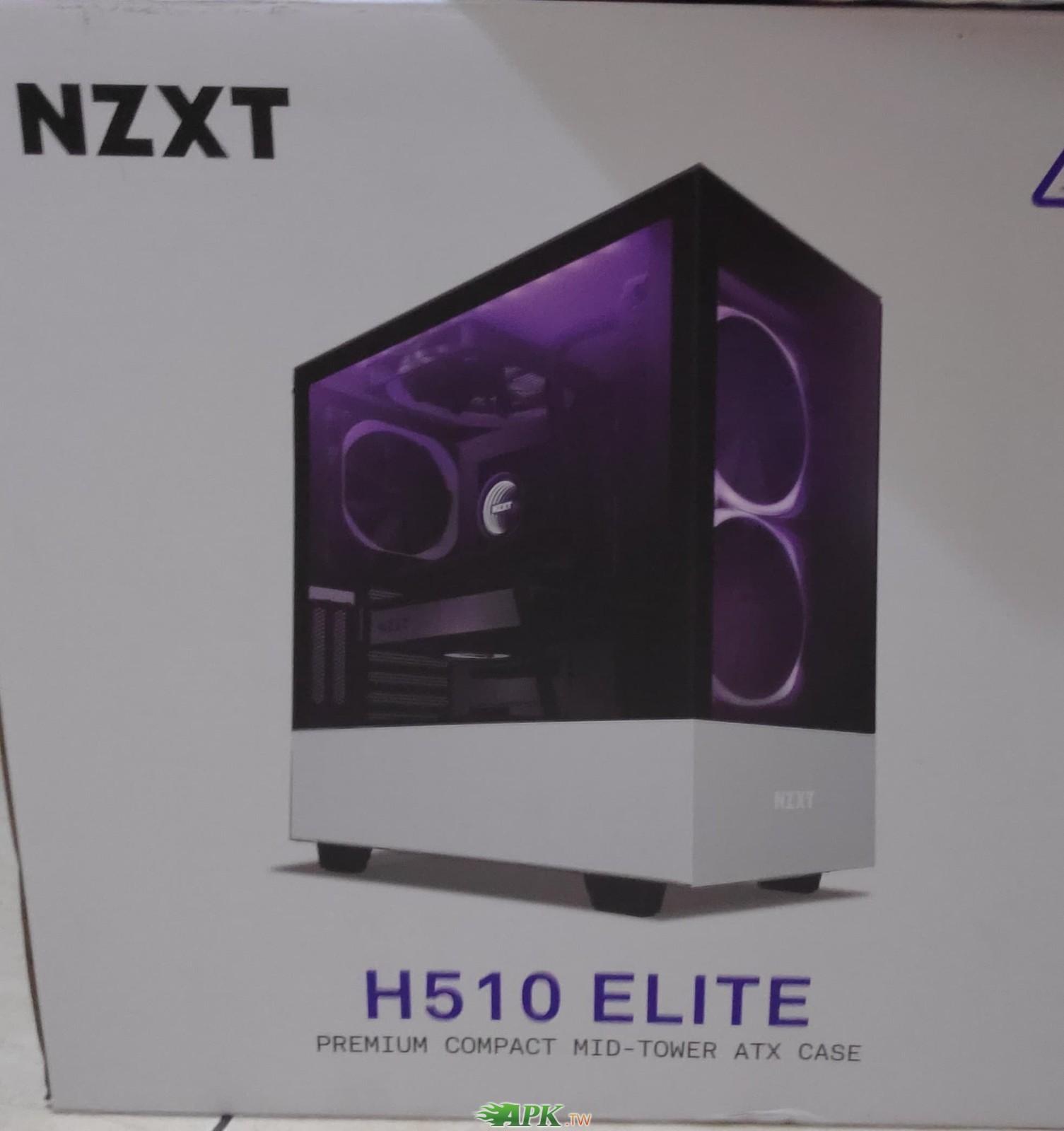NZXT H510 Elite (白黑)顯卡長36.5/u高16.5