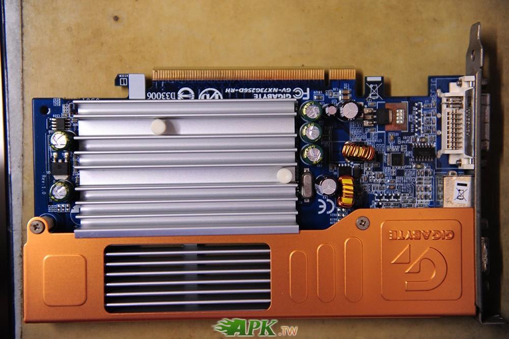 2手 技嘉 GV-NX73G256D-RH顯示卡PCI-E