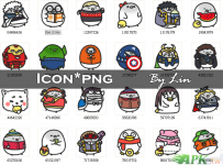 【APK.TW美化組】兩組可愛icon