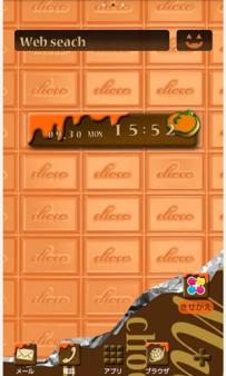 [+]HOME免費主題(台灣)-巧克力萬聖節(2.1↑@1.6M@apk)