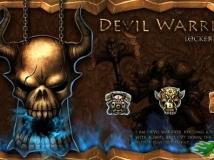 【GO卓面鎖屏已付費版】Devil Warrior GO Locker Theme v1.00
