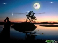 桌布-銀色的月光(橫@5張@268KB)