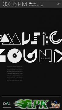 Atom Launcher免費主題-Typo Black(4.0↑@862K@APK)