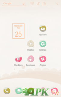 Atom Launcher免費主題-Pink Pastel(4.0↑@3.2M@APK)