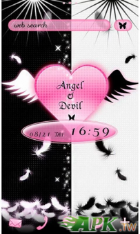 [+]HOME免費主題(台灣)-天使與魔鬼(2.1↑@1.7M@apk)
