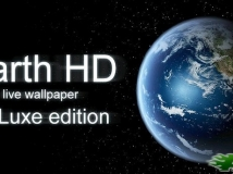 【APK資源組】高清地球動態壁紙豪華版EarthHDDeluxeEdition v3.0.1