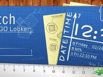 【APK資源組】Go鎖屏手繪風格主題 Sketch GO Locker Theme v1.01