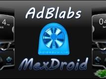 【Go鎖屏主題】已付費版 Black Mexdroid 鎖屏主題!