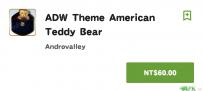 ADW Theme American Teddy Bear(2.2↑@10M@apk)