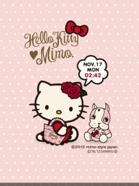 凱蒂貓Hello Kitty桌面時鐘-動態桌布(@0.98MB@apk)付費版
