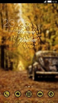 靚靚的秋天主題來咯~~~浪漫你的手機~~