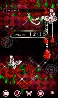 [+]HOME主題-歌德式玫瑰(2.1↑@2.1M@APK)