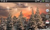 美麗雪景動態桌布(2.2↑@3.7MB)