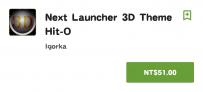 Next Launcher 3D Theme Hit-O(2.2↑@8.41MB@apk)