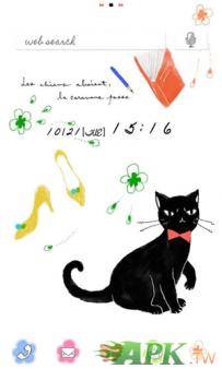 [+]HOME免費主題(台灣)-黑貓(2.1↑@1.1M@apk)