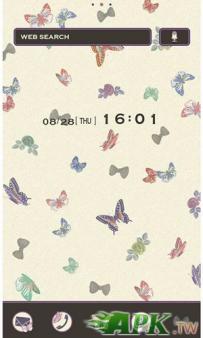 [+]HOME免費主題(台灣)-蝴蝶(2.1↑@1.6M@apk)