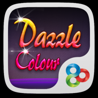 GO系列專用 Dazzle Colour GOLauncher Theme v1.0 解鎖版