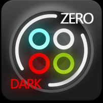 GO系列專用 Dark Zero GO Launcher Theme V1.0 解鎖版
