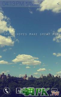 Atom Launcher免費主題-Great hopes(4.0↑@407K@APK)