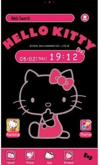 【日本限定】Hello Kitty Pink&Black [+]HOME