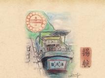 高清桌布 素描台灣,或許有你的回憶