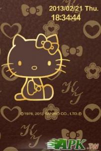 【日本限定】Hello Kitty - 金屬皮革質感(已付費)