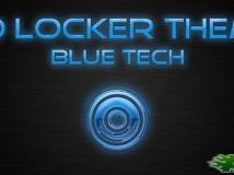 【Go鎖屏主題】已付費版 Blue Tech 鎖屏主題!