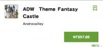 ADW Theme Fantasy Castle(2.0↑@9.9M@apk)