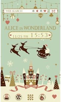 [+]HOME免費主題(台灣)-愛麗絲的白色聖誕節(2.1↑@1.5M@apk)