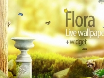 【已付費動態桌布】Flora Live Wallpaper + Widget v1.0.1 !