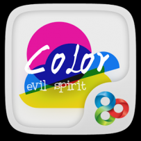 GO系列專用 Color Evil GO Launcher Theme v1.0 解鎖版