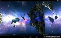 太空隕石動態桌布(2.1↑@7.84MB)