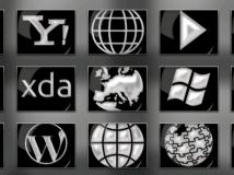 黑白主題icon