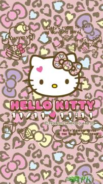【日本限定】Hello Kitty - 心形豹紋圖案(已付費)