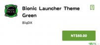 Bionic Launcher Theme Green(2.2↑@46M@apk)