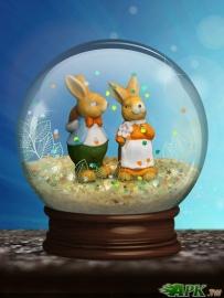 水晶球-動態桌布(2.2↑@13.1MB@apk)付費版