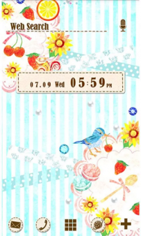 [+]HOME免費主題(台灣)-水果茶話會(2.1↑@1.9M@apk)